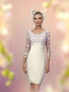 0385c82ee BASICO - Moda Café® Noivado, Vestidos Festa, Vestidos De Noiva Curtos,  Vestidos