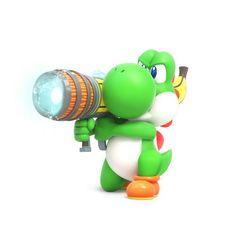 Yoshi - Mario + Rabbids: Kingdom Battle