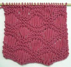 Fancy Stitches for Special Yarn - Knitting Daily - Knitting Daily