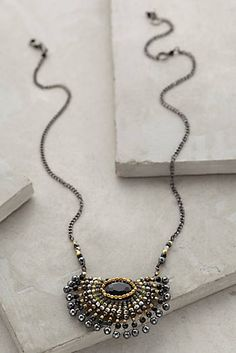 Radial Pendant Necklace