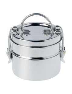 Tiffin tin from Toast...I've always wanted one of these to carry my packed lunch around in....way cooler than a tupperware tub!