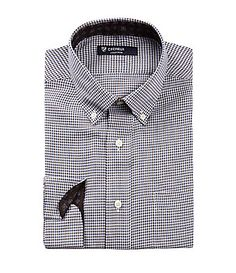 Cremieux Small Checker ButtonDown Collar LongSleeve Shirt #Dillards