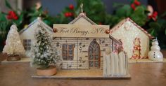 Ain't She Crafty: Melissa Frances Chipboard Houses Tutorial