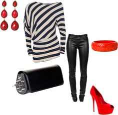 Out on the town, created by ali-laprade on Polyvore