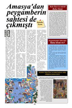 Amasya'da yalancı peygamber Baba İlyas Baba İshak Babailer