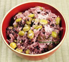お盆料理の参考に♪「古代米のごはん」