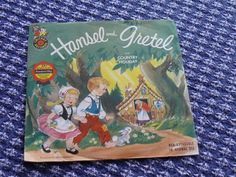 Hansel and Gretel Childrens Standard Play Cricket Record