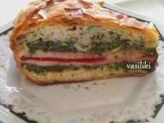 Τούρτα αλμυρή Bagel, Quiche, Sandwiches, Bread, Breakfast, Food, Meal, Brot, Eten