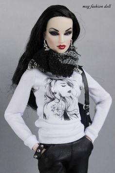 https://flic.kr/p/pjijiB | New FR2/FASHION ROYALTY 12' ''GLAM ROCK'' | www.ebay.com/itm/Meg-outfit-for-Fashion-Royalty-FR-12-039...?