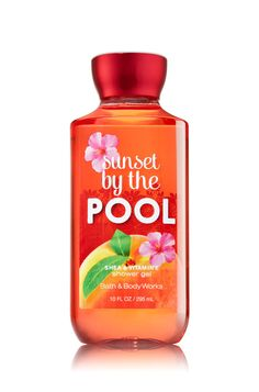 Sunset By The Pool Shower Gel - Signature Collection - Bath & Body Works