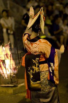 Nishimonai bon-dance, Japan@西馬音内盆踊り(秋田県羽後町)