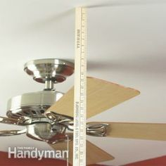 How to adjust and balance your ceiling fan blades to stop the wobble and rattle. Get your fan running smoothly again in 15 minutes.
