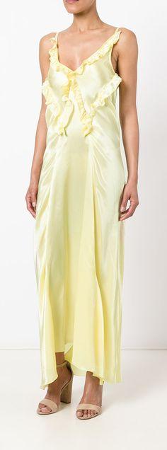 Shop online yellow Yuliya Magdych 'Eden Tree' dress as well as new season, new arrivals daily. Eden Tree, Lemon Cream, Summer Trends, Bell Sleeves, Sugar, Colours, Key, Seasons, Explore