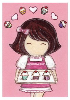 Sweet cupcake picture