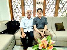 Advocate Jayaprakash Mallay and Dr. Rajeev Ramachandran, Assistant Professor Yong Loo Lin School of Medicine, National University of Singapore