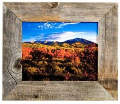 rustic barnwood document frame 85x11 inch opening with easel stand reclaimed wood visit the