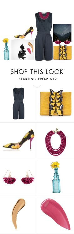 """""""Let life in"""" by lameessalem ❤ liked on Polyvore featuring Halston Heritage, Nancy Gonzalez, Paul Andrew, BaubleBar, Accessorize, Cultural Intrigue and Burberry"""
