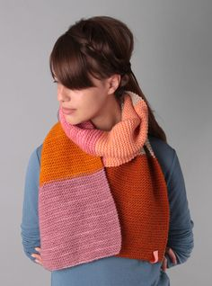 Couverture and The Garbstore - Womens - Ikou Tschuss - YMA Wool Scarf  BY IKOU TSCHUSS