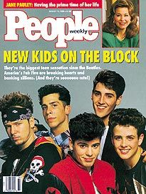 The Heartthrobs of America!  April had the biggest crush on them! Me and my other sister were out the mall one day and seen them all with their body guards.  They were shopping!  April was so mad she wasn't with us!