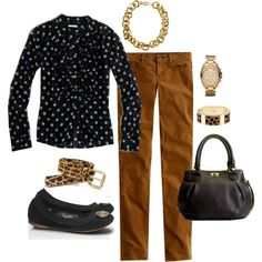 Untitled #105 by jlacy1010 on Polyvore featuring moda, J.Crew, Tory Burch, Michael Kors, women's clothing, women's fashion, women, female, woman and misses