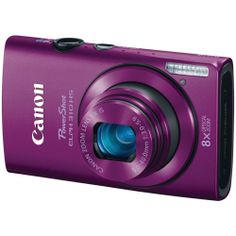 Canon PowerShot ELPH 310 HS 12.1 MP CMOS Digital Camera with 8x Wide-Angle Optical Zoom Lens and Full 1080p HD Video (Purple) > Price: $359.00 > Click on the image for details and offers.
