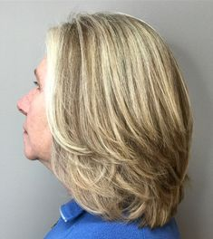 Medium Feathered Cut For Thick Hair