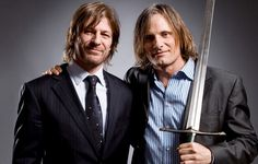 Lord of the Rings Viggo and Sean