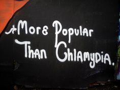More Popular Than Chlamydia.