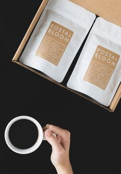 Postal Bloom Coffee Subscription.