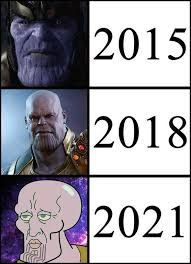 Image result for meme thanos