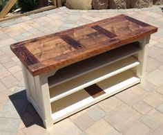I'm obsessed with repurposed/reclaimed wood right now... and this just about tops my list