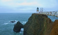 """""""Point Bonita Lighthouse in Sausalito, California."""" (From: America's Most Beautiful Lighthouses)"""