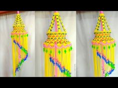 SIMPLE MACRAME JHUMAR - YouTube