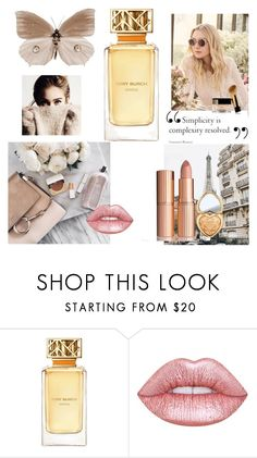 """Untitled #10"" by dzeneta-m ❤ liked on Polyvore featuring beauty, Tory Burch, Lime Crime, Too Faced Cosmetics and Jimmy Choo"