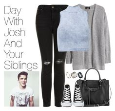 """Day with Josh and Your SIblings"" by onedirectionimagineoutfits99 ❤ liked on Polyvore"