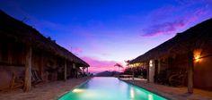 Casa de Olas, San Juan del Sur, Nicaragua - this beautiful boutique hotel is set high atop a cliff that overlooks a picturesque surf beach.