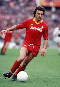 Roberto Pruzzo of AS Roma in 1982.