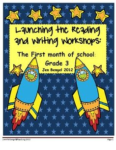 110 page resource with 40 lessons all linked to grade 3 CCSS...everything you need to launch your reading and writing workshops!