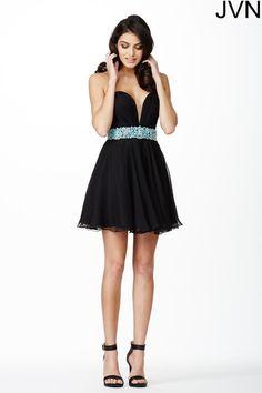 JVN by Jovani Short Homecoming Dress jvn27190