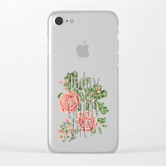 Shop clear iPhone cases featuring brilliant patterns and designs on frosted…