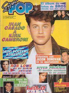 Kirk Cameron, Rob Lowe, John Travolta, George Michael, Tom Cruise, Brad Pitt, Nostalgia, We Remember, My Memory