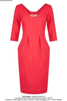 coral mother of the bride dress | Mother of the Bride outfits for a wedding | WhatSheWears.ie