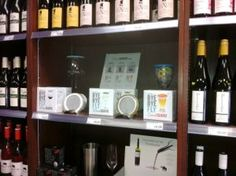 Great Wine Guard display at Local Liquor Market in Summerland. It's surrounded by some delicious Okanagan Valley Wines. Winery Tasting Room, Wine Tasting Experience, Fruit Flies, Stainless Steel Mesh, Wines, Liquor, Wine Glass, Display, Floor Space