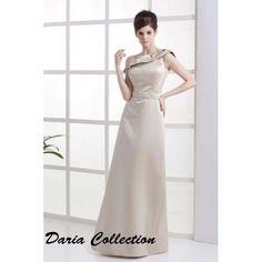 Bridesmaid Dresses Sheath/Column One Shoulder Floor Length Satin $348.98 Wedding Apparel