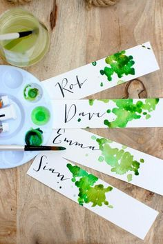 DIY place cards or gift tags DIY Place Cards or Gift Tags ., DIY place cards or gift tags DIY place cards or gift tags # gift tags cards. Diy And Crafts, Crafts For Kids, Paper Crafts, Art Crafts, Diy Paper, Diy Place Cards, Cards Diy, Diy Wedding Place Cards, Deco Champetre