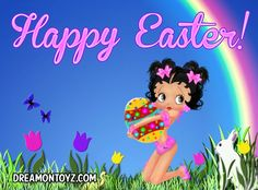 Betty Boop's Easter!