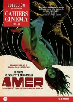Amer (2009) Bélxica. Dir.:Hélène Cattet e Bruno Forzani. Thriller - DVD CINE 1933