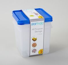 All Purpose Storers set of 2 Plastic Container Storage, Plastic Containers, Storage Containers, Food Storage, Sustainable Living, I Foods, Sustainability, Purpose, Storage Bins