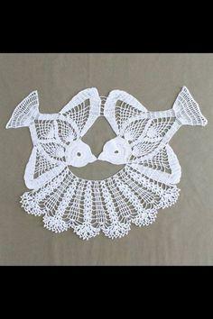Diy Crafts - Lovebird Doily Crochet Pattern PDF by Maggiescrochet on Etsy Crochet Dollies, Crochet Birds, Thread Crochet, Crochet Flowers, Crochet Stitches, Crochet Butterfly, Crochet Stars, Crochet Animals, Filet Crochet