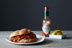 Vegan Lentil Sloppy Joes, a recipe on Food52